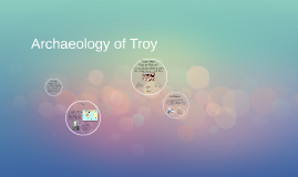 Archeology of Troy