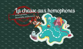 La chasse aux homophones