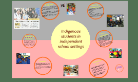 Indigenous students in independent school settings