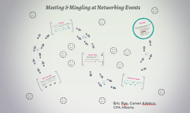 Meeting & Mingling at Networking Events