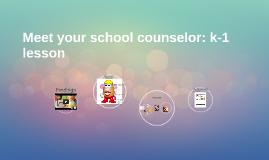 Meet your school counselor: