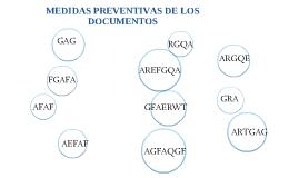 MEDIDAS PREVENTIVAS DE DOCUMENTOS DE ARCHIVOS Y COLECCIONES