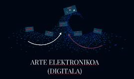 ARTE ELEKTRONIKOA