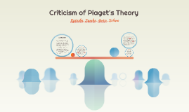 criticism of piaget's theory