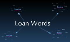 Loan Words