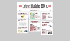 Lietuvos biudžetas