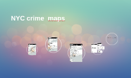 NYC crime  maps