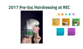 Pre-Voc Hairdressing