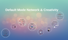 Copy of Default Mode Network & Creativity