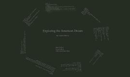Exploring the American Dream