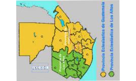 JERARQUIA DE LA IGLESIA CATOLICA GUATEMALA