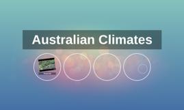Australian Climates