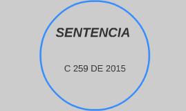 Copy of SENTENCIA