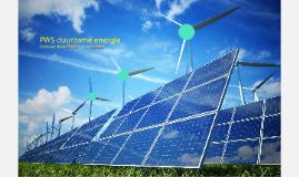 PWS duurzame energie