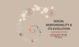 SOCIAL RESPONSIBILITY & ITS EVOLUTION