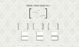 Toledo- Valdez family tree.