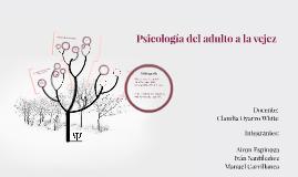 Copy of Psicología del adulto a la vejez