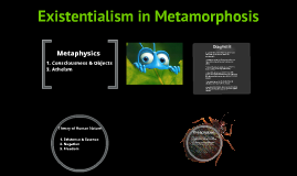 the metamorphosis existentialism Metamorphosis part 1 questions kenia gomez 1 how does  existentialism  claims that human beings are only what they are at each moment relate this  idea.