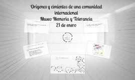 Copy of Orígenes y cimientos de una comunidad internacional