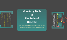 Monetary Tools