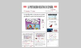 LA PREFIJACIÓN NEGATIVA EN ESPAÑOL