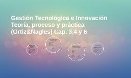 Gestión Tecnológica e Innovación Teoría, proceso y práctica