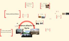 France attacks on Syria