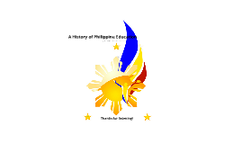 A History of Philippine Education