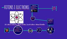 Fotons i Electrons