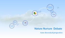 Nature Nurture  Debate