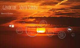 Genocide: South Sudan
