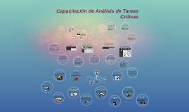 Copy of Capacitación de Análisis de Tareas Criticas