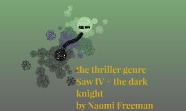 the thriller genre