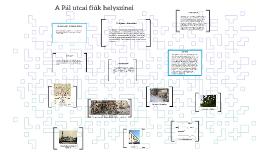Copy of A Pál utcai fiúk helyszínei