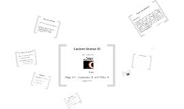 Lecture Séance 10