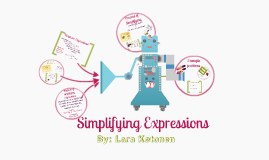 simpifying expressions