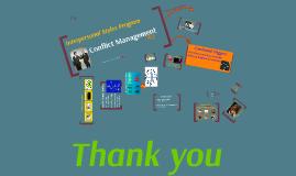 Conflict Management - 05.2016 Updates