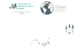 Boston Center for Global Urban Ministry