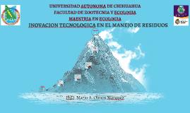INOVACION TECNOLOGICA EN EL MAJO DE RESIDUOS