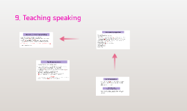 9. Teaching speaking