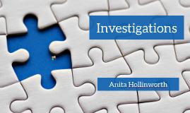 Investigations presentation