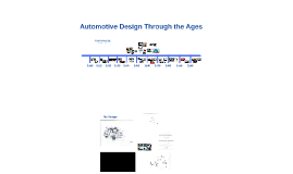 Automotive Design Through the Ages
