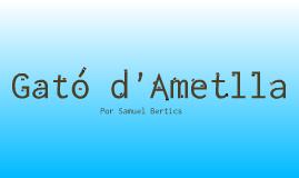 Gató d'Ametlla