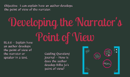 Developing Author's Point of View - Out of the Dust