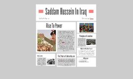 Saddam Hussein In Iraq
