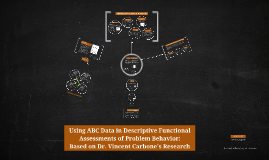 Using ABC Data in Descriptive Functional Assessments of Prob