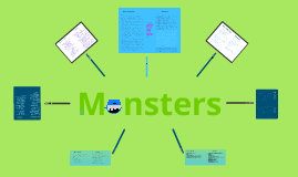 Monsters: A Frankenstein Comparison Project