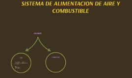SISTEMA DE ALIMENTACION DE AIRE Y COMBUSTIBLE