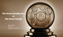 Copy of The Seven Deadly Sins in The Great Gatsby