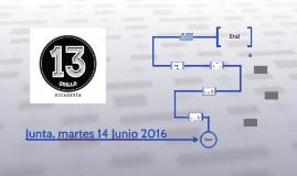 Junta, martes 14 Junio 2016